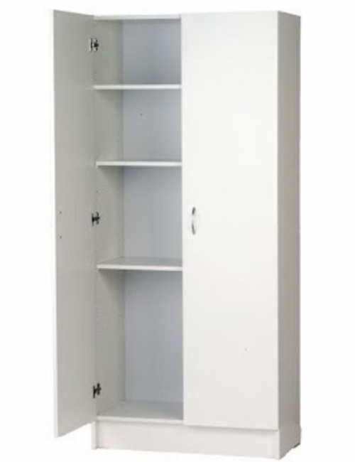 Pantry cabinet single door pantry cabinet with single for Single kitchen cupboard
