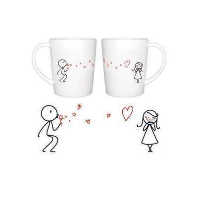 boldloft from my heart to yours couple coffee mugs ideal birthday christmas wedding anniversary valentine gift for