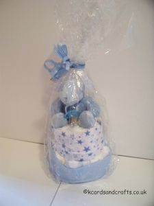 Nappy Cake for boy