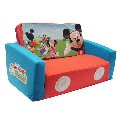 Image Result For Mickey Mouse Clubhouse Flip Open Sofa With Slumber Bed