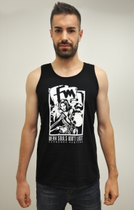 Black & White MALE Tank Top
