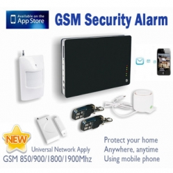 Smart Wireless/Wired Security Alarm System