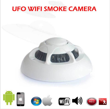 smoke detector w hidden wireless ip camera. Black Bedroom Furniture Sets. Home Design Ideas