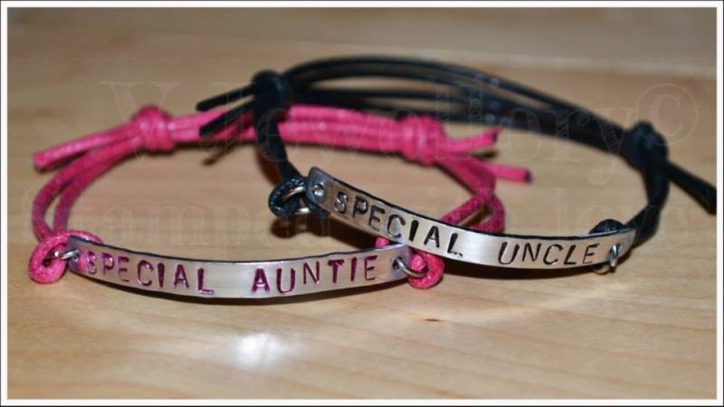 Special Relative Single Multi-Plate Bracelet