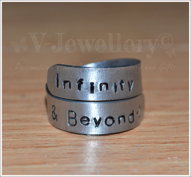 """Infinity & Beyond"" 2 Wrap Ring *Higher Quality*"