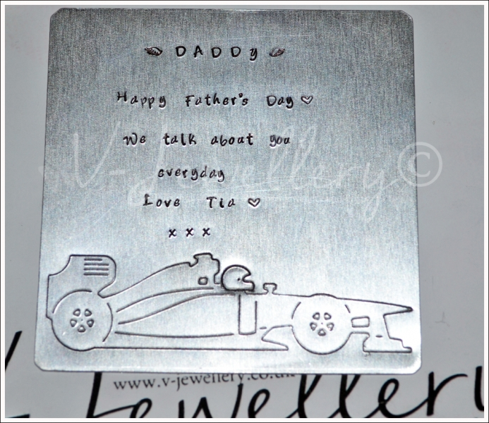 Personalised Etched XL Square Plaque *Various Designs Available*