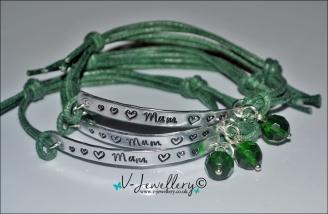 Mum Hand Stamped Bracelet