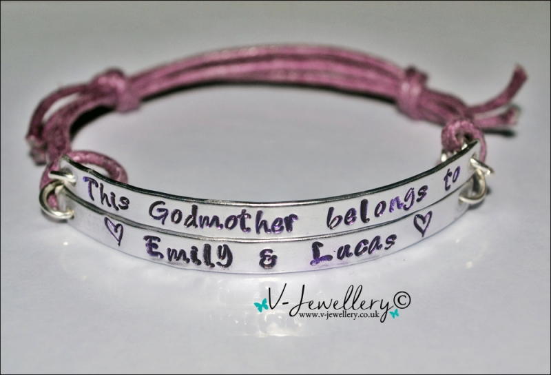 Godmother belongs to... Multi-Plate Bracelet