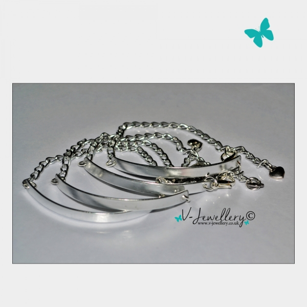 Plate Chain Bracelet *Non Personalised*