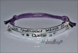 Godmother belongs to... Multi-Plate Bracelet