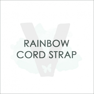 ADD ON'S: Rainbow Cord Strap *For Bracelets*