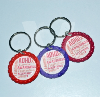 Printed Design Keyring *Various Designs Available*