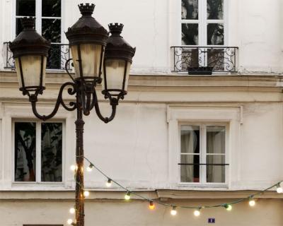 巴黎灯,巴黎摄...