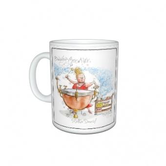 "Mark Bardsley musical cartoon mug collection ""Kettle Drum"""