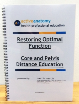 Core and Pelvis Distance Education Workshop Manual