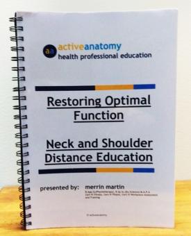 Neck & Shoulder Distance Education Workshop Manual