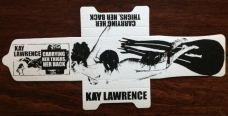 "Kay Lawrence ""Carrying Her Thighs, Her Back"" c30"