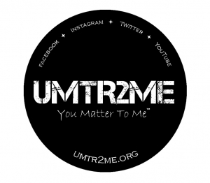 "3-Pack Vinyl Sticker ""UMTR2ME"""